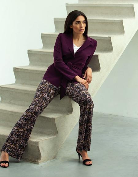 pantalons escalier cometomilan bruxelles - Pantalons pour femmes